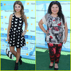 Stefanie Scott & Raini Rodriguez: Mattel Children's Hospital Benefit