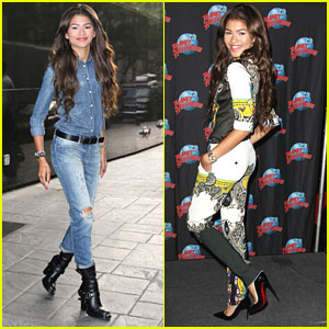 Zendaya: Planet Hollywood Promo in NYC
