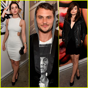 Adelaide Kane & Crystal Reed: Tyler Shield's Book Launch