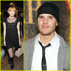 Bella Thorne & Chris Zylka: Guess & Harper's Bazaar Dinner Duo
