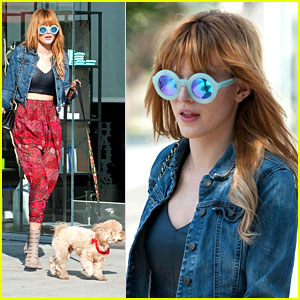 Bella Thorne: Salon Stop After 'Shake It Up' Series Finale