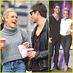 Brant Daugherty & Peta Murgatroyd: Starbucks Stop After 'The View' Appearance