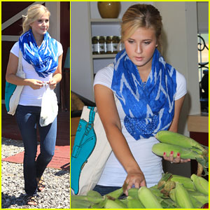 Caroline Sunshine: Back in L.A. After Trip to West Virginia