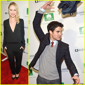 Darren Criss & Becca Tobin: Blue Jeans Go Green Celebration