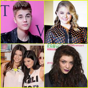 Justin Bieber & Chloe Moretz: Time's Most Influential Teens!