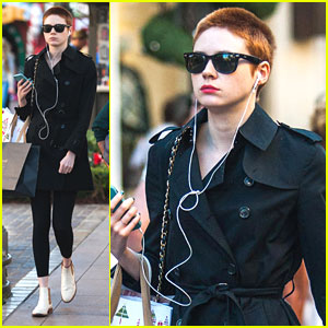 Karen Gillan: Holiday Shopping at the Grove