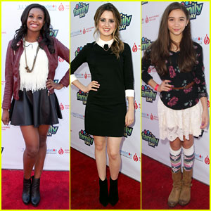 Laura Marano & Coco Jones: TJ Martell Family Day with Rowan Blanchard!