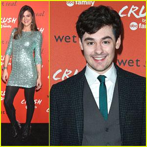Lindsey Shaw & Brendan Robinson: Crush by ABC Family Launch