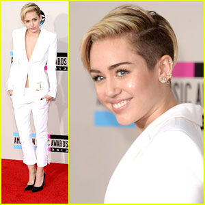 Miley Cyrus - AMAs 2013 After 21st Birthday!
