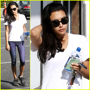 Naya Rivera: Weekend Workout