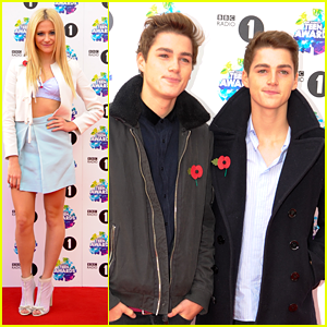 Pixie Lott: BBC Radio 1 Teen Awards with Jack & Finn Harries!