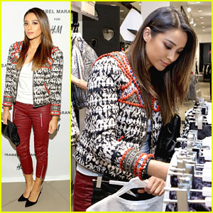 Shay Mitchell: H&M Isabel Marant VIP Pre Shop Event