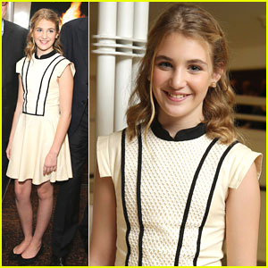 Sophie Nélisse: 'The Book Thief' Screening at Museum of Tolerance