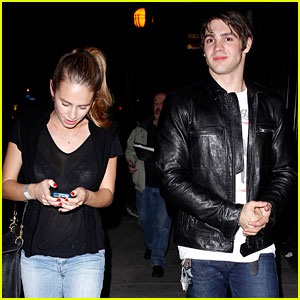 Steven R. McQueen: Dinner with Dylan Penn!