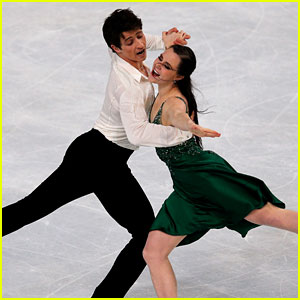 Tessa Virtue & Scott Moir Take Gold at Trophee Eric Bompard