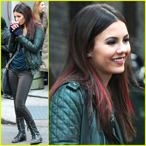 Victoria Justice: Coffee for 'Eye Candy'