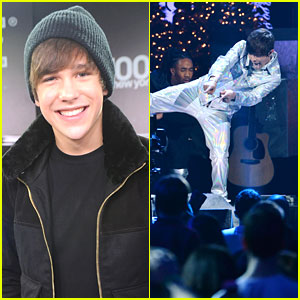 Austin Mahone: Z100 Jingle Ball Performance Pics!