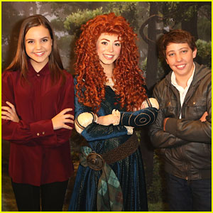 Bailee Madison: Disney On Ice Party with Ryan Lee!