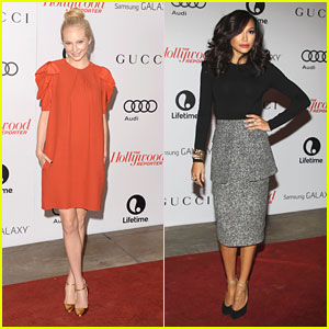 Candice Accola & Naya Rivera: THR's Women in Entertainment Breakf