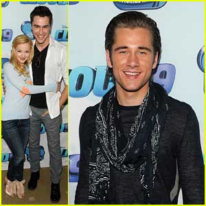 Dove Cameron & Ryan McCarten: 'Cloud 9' Premiere with Luke Benward