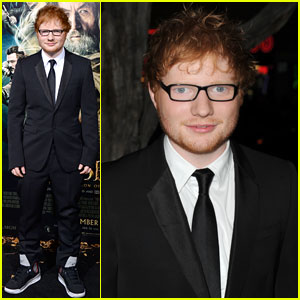 Ed Sheeran: 'The Hobbit' Hollywood Premiere