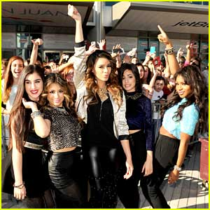 Fifth Harmony: Y100's Jingle Ball 2013 Pre-Show Pics!