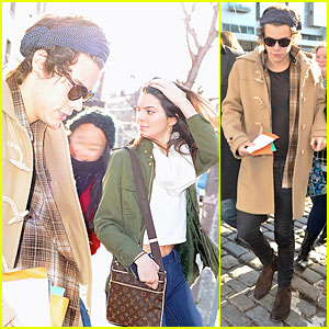 Harry Styles & Kendall Jenner Step Out for Breakfast Together!