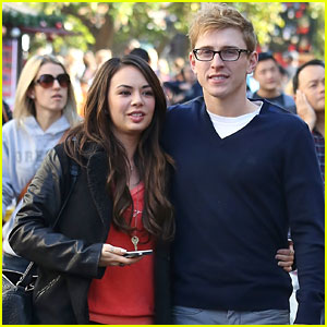 Janel Parrish & Payson Lewis: Christmas Shopping Pair
