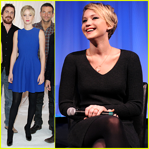 Jennifer Lawrence Promotes 'American Hustle' in NYC
