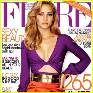 Jennifer Lawrence Magazine Photoshopped - See the Difference!