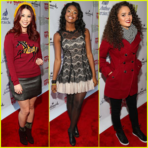 Jillian Rose Reed & Coco Jones: Hollywood Christmas Parade 2013 with Madison Pettis