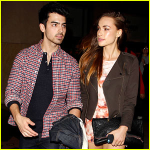 Joe Jonas & Blanda Eggenschwiler: Cara Santana's Fashion Blog Launch Party