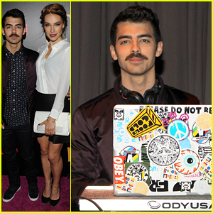 Joe Jonas & Blanda Eggenschwiler: Party Hopping Pair