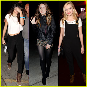 Kendall Jenner & Laura Marano: Beyonce Concert Goers!
