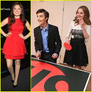 Kerris Dorsey & Emma Kenney: Showtime Holiday Soiree