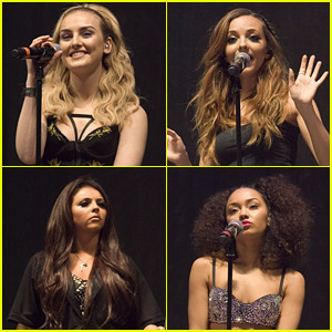 Little Mix: Clyde 1 Live Performance Pics!