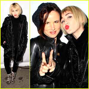 Miley Cyrus Debuts Blonde Bob at KROQ's Almost Acoustic Christmas!
