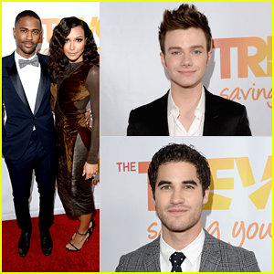 Naya Rivera: TrevorLIVE LA with Chris Colfer & Darren Criss!