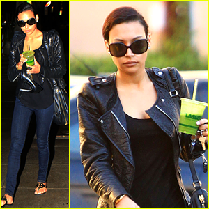 Naya Rivera: Pamper Session after