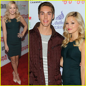 Olivia Holt & Austin North: Hollywood Christmas Parade 2013