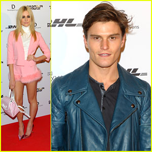 Pixie Lott & Oliver Cheshire: Fashion Fringe 10th Anniversary Party
