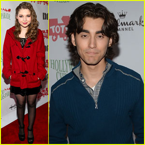 Sammi Hanratty & Blake Michael: Hollywood Christmas Parade 2013