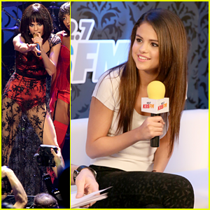 Selena Gomez: KIIS FM's Jingle Ball 2013 Backstage & Perform