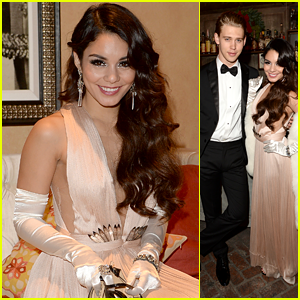 Vanessa Hudgens Celebrates 25th Birthday with Austin Butler!
