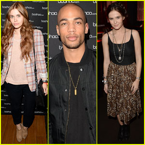 Zoey Deutch & Holland Roden: Beyonce Concert Viewing Party!