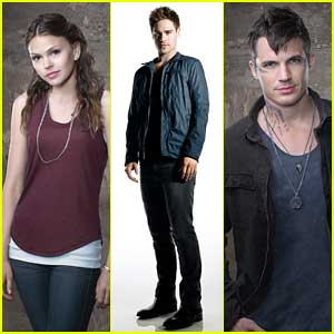 Aimee Teegarden & Matt Lanter: 'Star-Crossed' Promo Pics (Exclusive)!