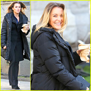 Alexa PenaVega: 'The Tomorrow People' Set!