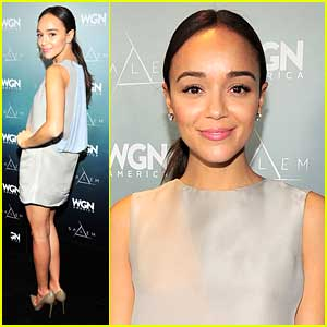 Ashley Madekwe: 'Salem' TCA Tour Panel Pics!
