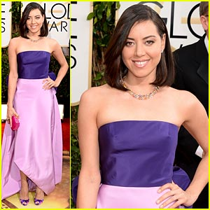 Aubrey Plaza - Golden Globe Awards 2014