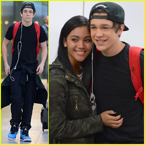 Austin Mahone: Fan-Friendly NYC Arrival!
